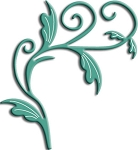 Cheery Lynn Designs - Shape Die - Tropical Flourish