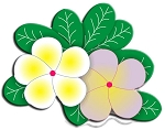 Cheery Lynn -Shape Die-Frangipani with Leaves