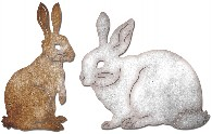 Cheery Lynn - Die - Bunnies (Set of 2)