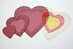 Cheery Lynn Designs - Doily Die - Heart to Heart