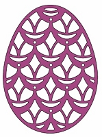 Cheery Lynn -  Doily Die - Lace Egg Seven