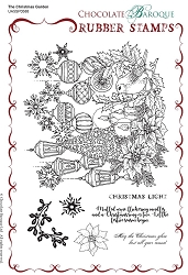 Chocolate Baroque - The Christmas Garden Unmounted Stamp Sheet (5.75