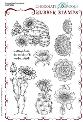 Chocolate Baroque - Unmounted Stamp Sheet (5.5
