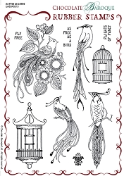 Chocolate Baroque - As Free As A Bird Unmounted Stamp Sheet (5.5