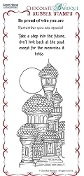 Chocolate Baroque - Acorn House  Unmounted Stamp Sheet (3.75