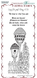 Chocolate Baroque - Garden House  Unmounted Stamp Sheet (3.75