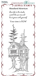 Chocolate Baroque - Tree House  Unmounted Stamp Sheet (3.75