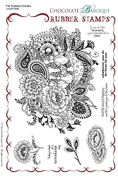 Chocolate Baroque - The Toadstool Garden Unmounted Stamp Sheet (5.5