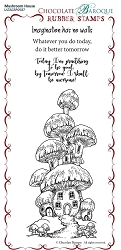 Chocolate Baroque - Mushroom House Unmounted Stamp Sheet (3.75