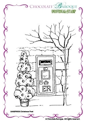 Chocolate Baroque - Unmounted Stamp Sheet (3.5