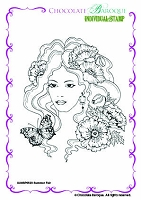 Chocolate Baroque - Unmounted Stamp Sheet (4