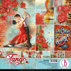 Ciao Bella - Tango collection - Paper Collection Kit