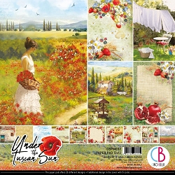 Ciao Bella - Under the Tuscan Sun Collection - Paper Collection Kit