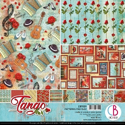 Ciao Bella - Tango collection - Coordinating Patterns Paper Kit