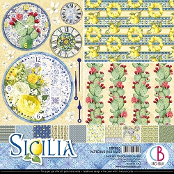 Ciao Bella - Sicilia Collection - Coordinating Patterns Paper Kit