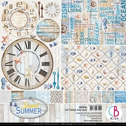 Ciao Bella - The Sound of Summer Collection - Coordinating Patterns Paper Kit