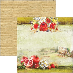 Ciao Bella - Under the Tuscan Sun Collection - Tuscan Dream 12x12 Cardstock