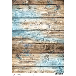 Ciao Bella - The Sound of Summer Collection - Coastal Wood Piuma Rice Paper