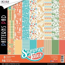 Ciao Bella - Summer Tales Collection - Coordinating Patterns Paper Kit