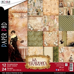 Ciao Bella - La Traviata Collection - Paper Kit