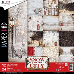 Ciao Bella - Snow and the City Collection - Paper Kit