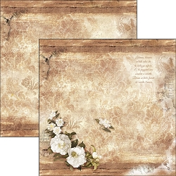 Ciao Bella - La Traviata Collection - 12x12 Cardstock - Libiam ne' lieti calici