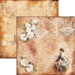 Ciao Bella - La Traviata Collection - 12x12 Cardstock - Violetta Valery