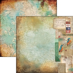 Ciao Bella - Repubbliche Marinare Collection - 12x12 Cardstock - Diario di bordo