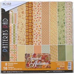 Ciao Bella - The Sound of Autumn Collection - Coordinating Patterns Paper Kit