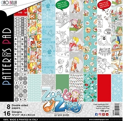 Ciao Bella - Zoe & Ziggy Collection - Coordinating Patterns Paper Kit