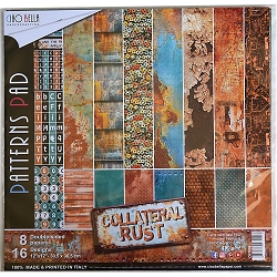 Ciao Bella - Collateral Rust Collection - Coordinating Patterns Paper Kit