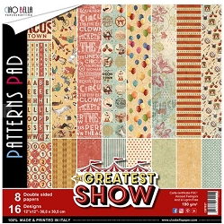 Ciao Bella - Greatest Show Collection - Coordinating Patterns Paper Kit