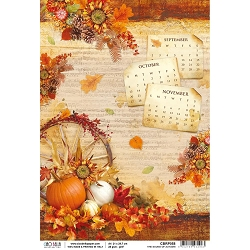 Ciao Bella - The Sound of Autumn Collection - The Sound Of Autumn Piuma Rice Paper