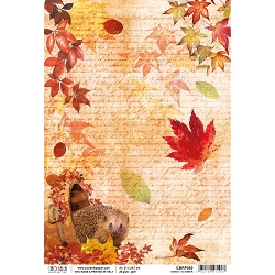 Ciao Bella - The Sound of Autumn Collection - Sweet October Piuma Rice Paper