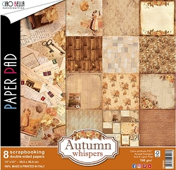 Ciao Bella - Autumn Whispers collection - Paper Kit