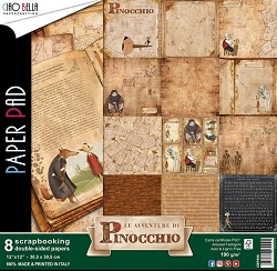 Ciao Bella - Le Avventure di Pinocchio collection - Paper Kit