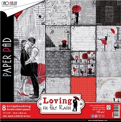 Ciao Bella - Loving In The Rain collection - Paper Kit