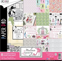 Ciao Bella - Italian Luxury collection - Paper Kit