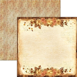 Ciao Bella - Autumn Whispers collection - 12x12 Cardstock - A little bit of time