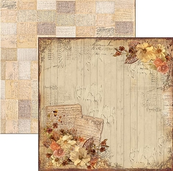 Ciao Bella - Autumn Whispers collection - 12x12 Cardstock - October feelings