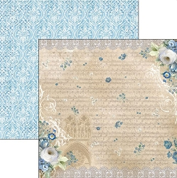 Ciao Bella - Broccato Estense collection - 12x12 Cardstock - Rinascimento Estense