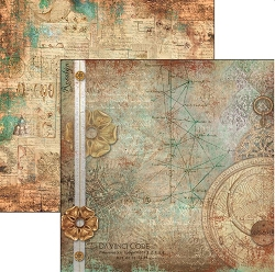 Ciao Bella - Codex Leonardo collection - 12x12 Cardstock - I codici