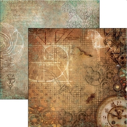 Ciao Bella - Codex Leonardo collection - 12x12 Cardstock - La mente di Leonardo