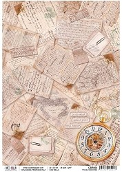 Ciao Bella - Ciao Bella Collection - Piuma Rice Paper - Travel Memories