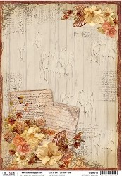 Ciao Bella - Autumn Whispers collection - Piuma Rice Paper - October feelings