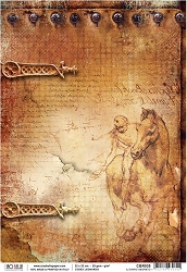 Ciao Bella - Codex Leonardo collection - Piuma Rice Paper - Il diario segreto