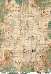 Ciao Bella - Codex Leonardo collection - Piuma Rice Paper - I codici