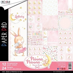 Ciao Bella - Ninna Nanna Girl Collection - Paper Collection Kit