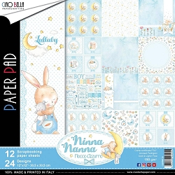 Ciao Bella - Ninna Nanna Boy Collection - Paper Collection Kit