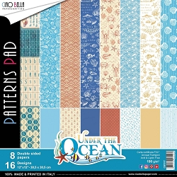 Ciao Bella - Under The Ocean Collection - Coordinating Patterns Paper Kit